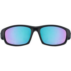 UVEX sportstyle 507 Kids Glasses black mat green
